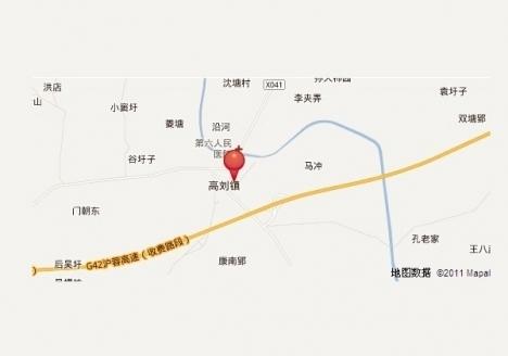 振荣锦尚公馆交通图