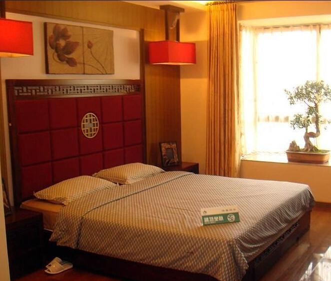 隆昊昊天园143㎡样板间卧室