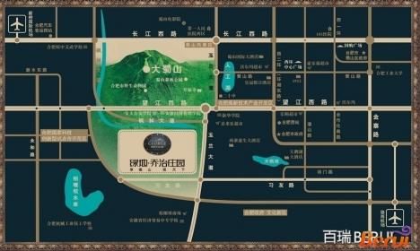 绿地乔治庄园交通图