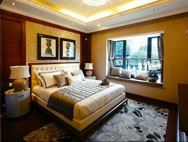 恒大中央广场138㎡样板房卧室
