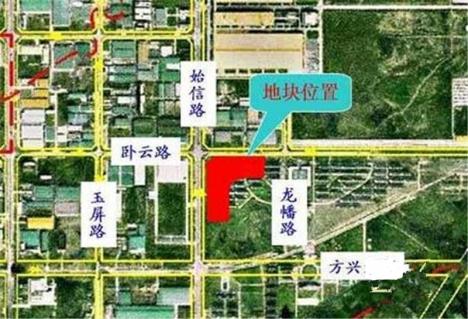 滨湖香江龙韵交通图
