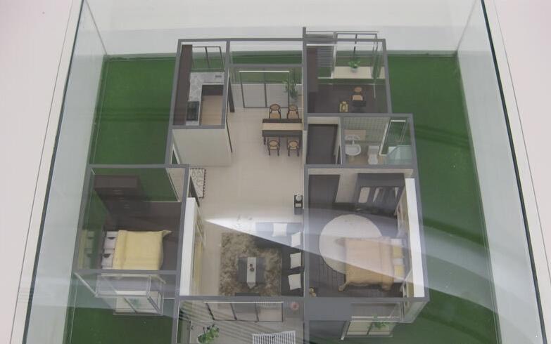 东方广场户型模型