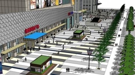 东方广场效果图