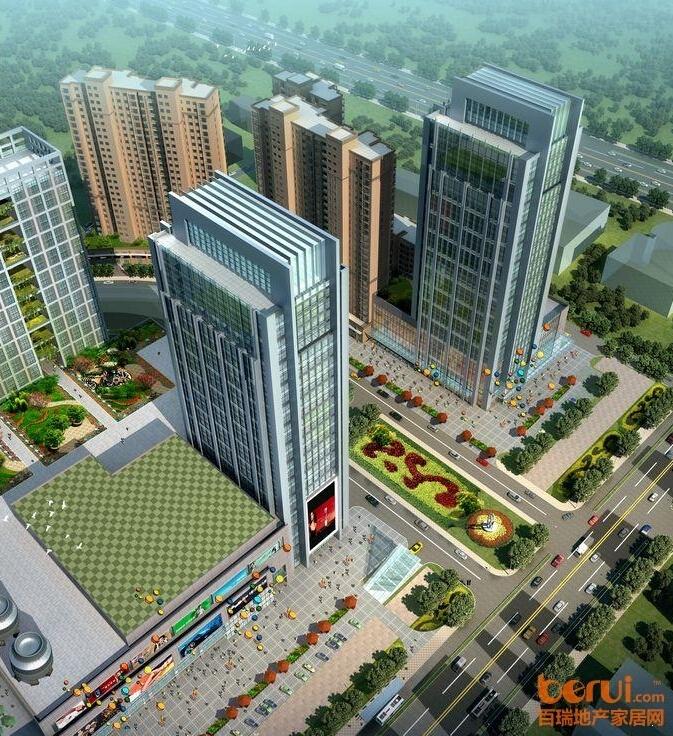 东方广场鸟瞰图