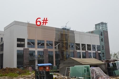 南翔华夏国际茶博城14.07工程进度 6/9