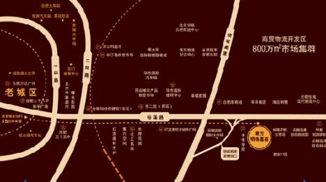 东方明珠嘉苑交通图
