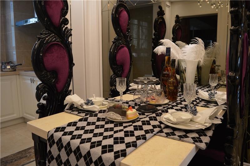 御景嘉苑114㎡样板间餐厅
