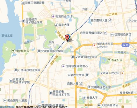鼎鑫中心 区位图