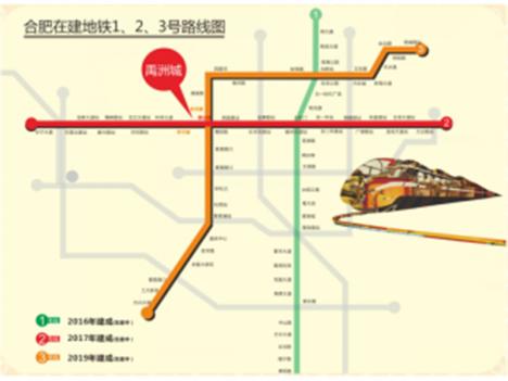 蓝光禹洲城【耍街】交通图