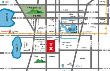 太平洋森活广场交通图