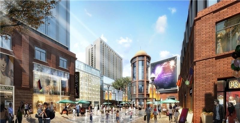 新地城市广场街景图