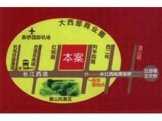 乐客来国际商业中心交通图