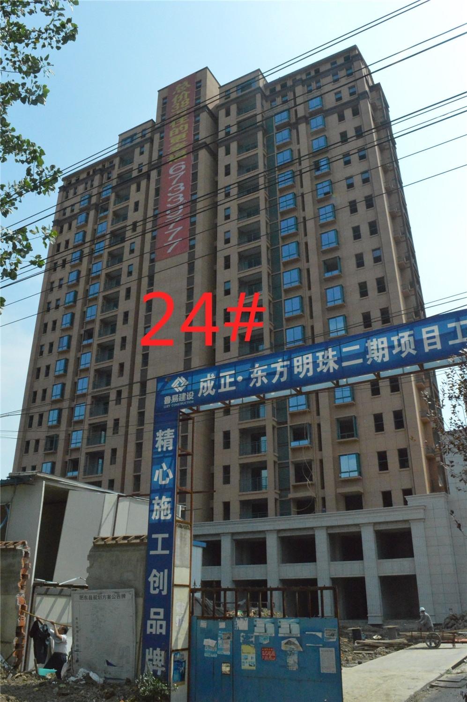 东方明珠嘉苑24#工程进度(2015.9.20)