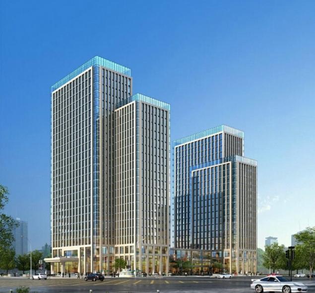 圣联时代广场SOHO公寓效果图