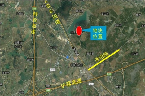 玉成长丰CF201505-06地块交通图