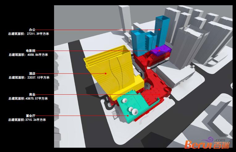 滨湖东方汇项目规划图