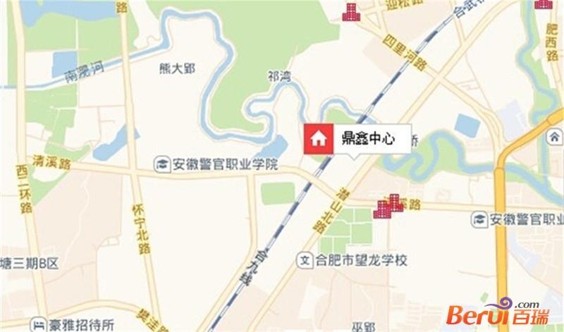 鼎鑫中心交通图
