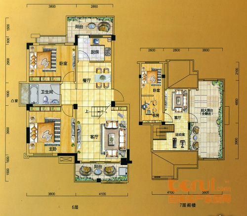 金水童话名苑13#楼A1户型