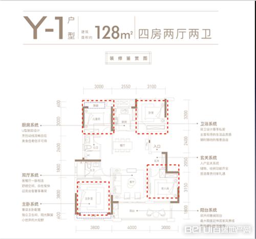 中海·九樾,展示图